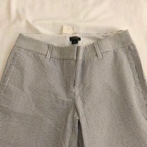 J.Crew Seersucker Pants